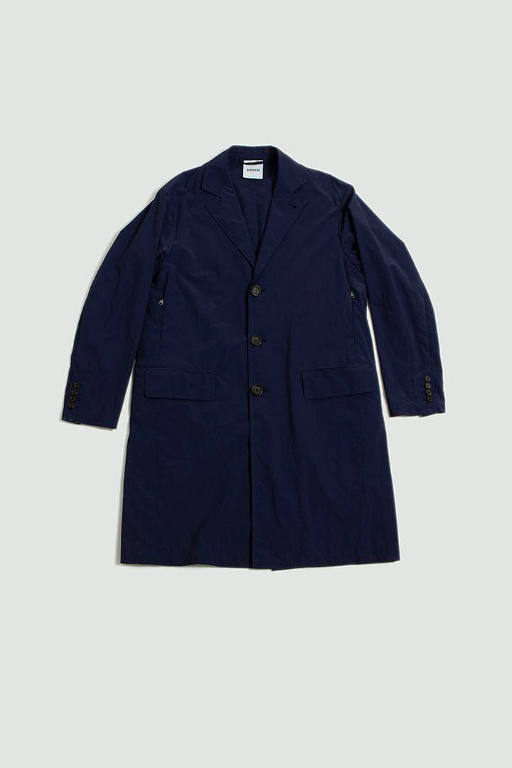 Raincoat navy