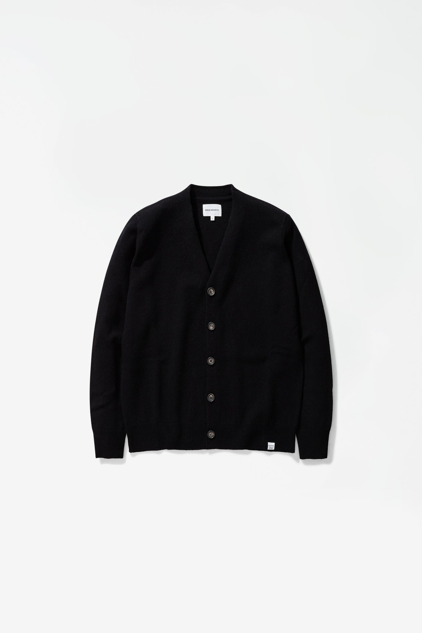 Adam lambswool sweater black