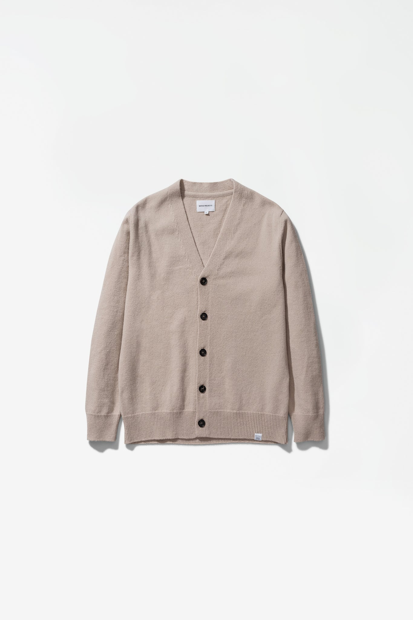Adam lambswool sweater utility khaki