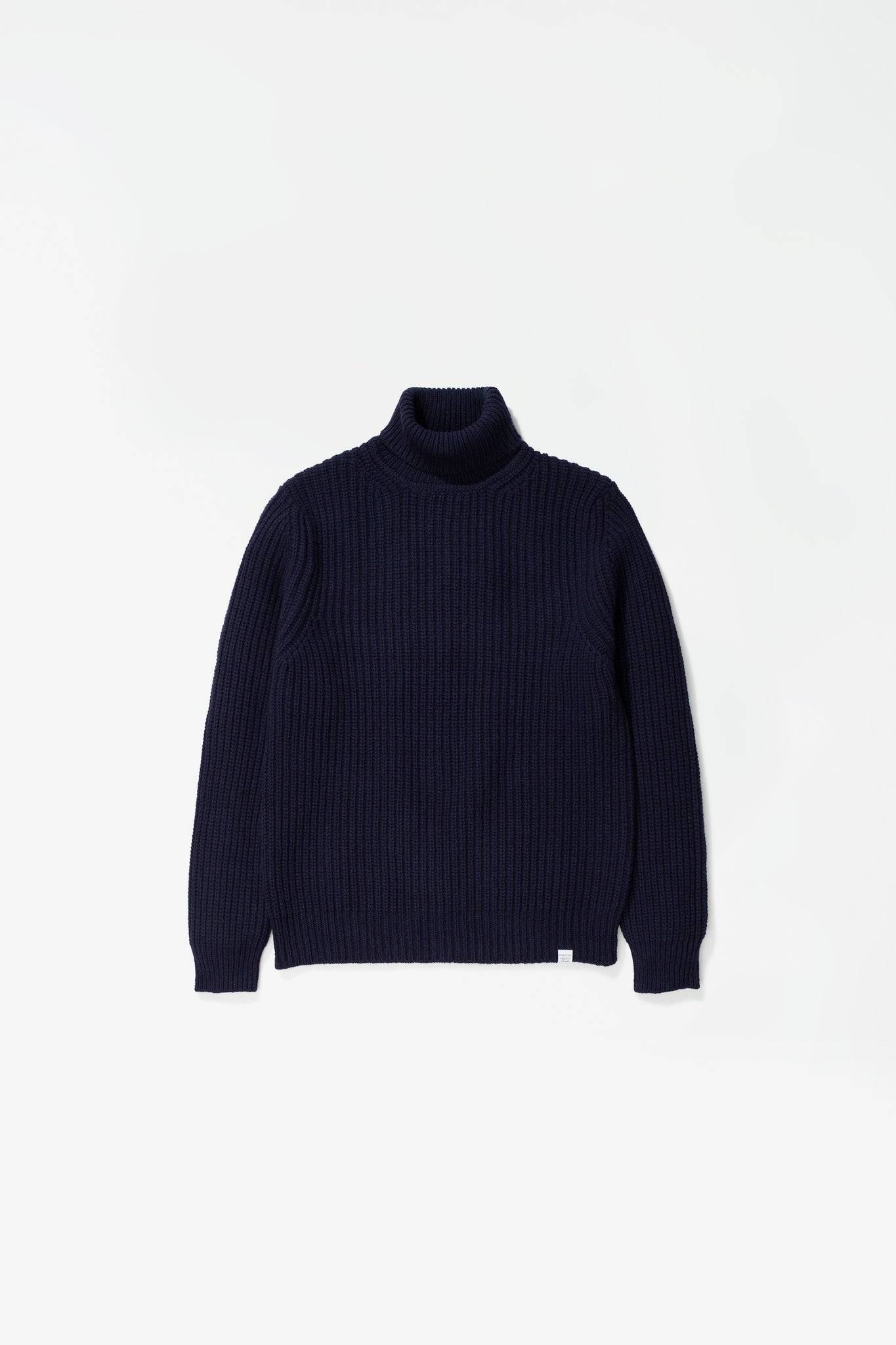 Arild roll neck dark navy