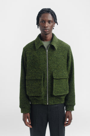 Avalon jacket smoked green