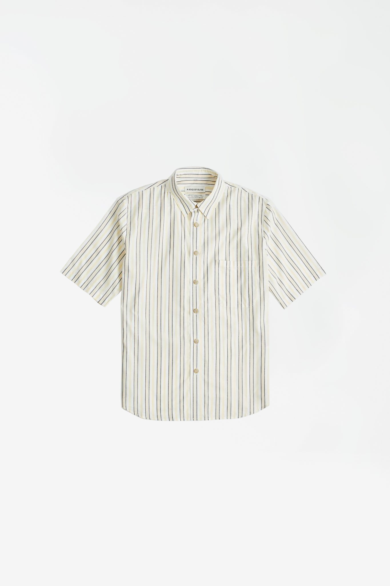Banepa Shirt yellow stripe
