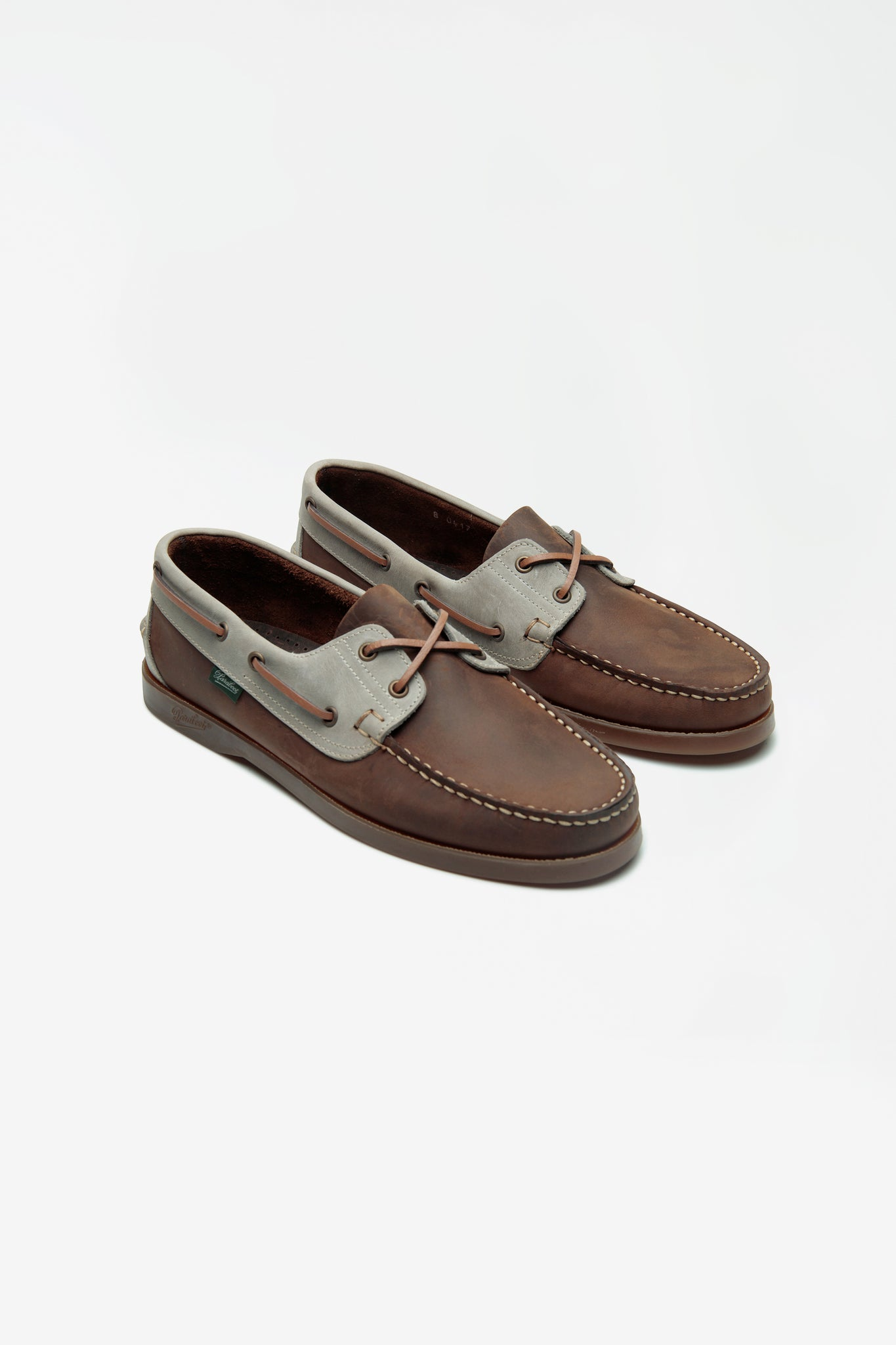 Barth nubuck grey/ brown