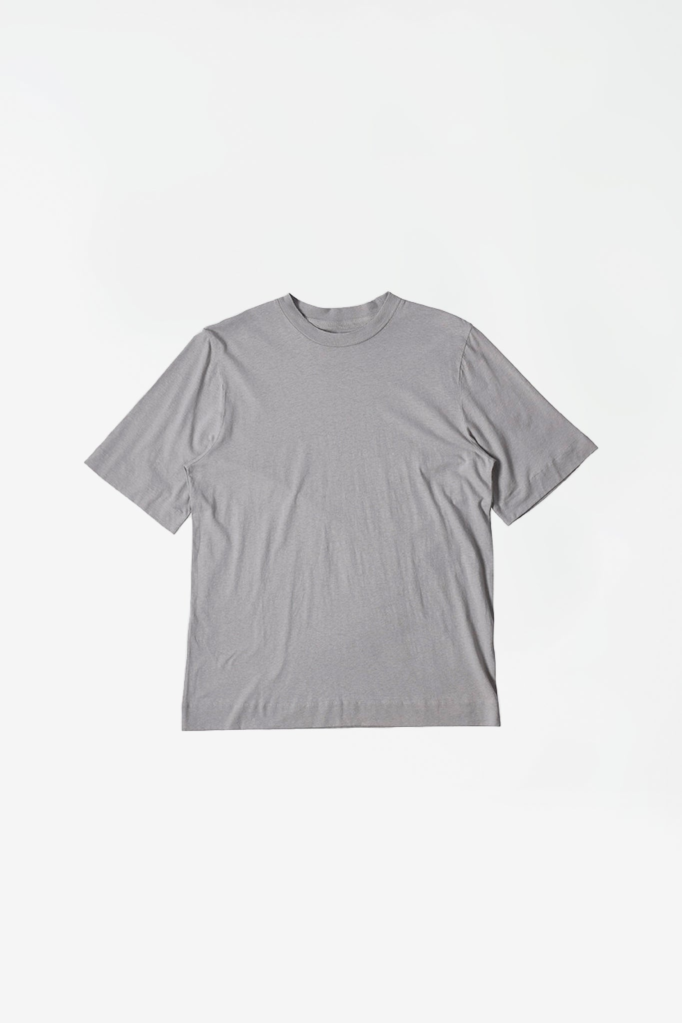 Basic T-shirt cotton linen concrete
