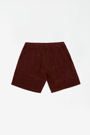 Beach short raisin