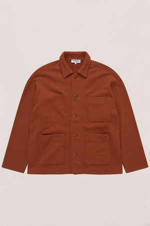 Cubist jacket rust
