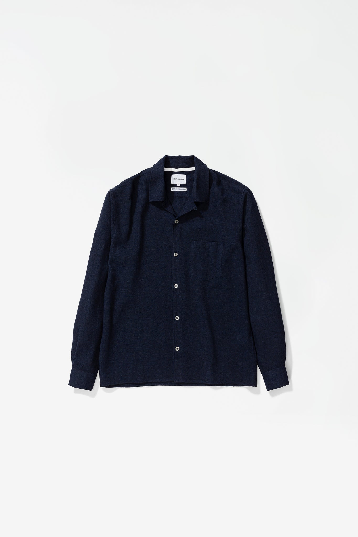 Carsten light wool dark navy