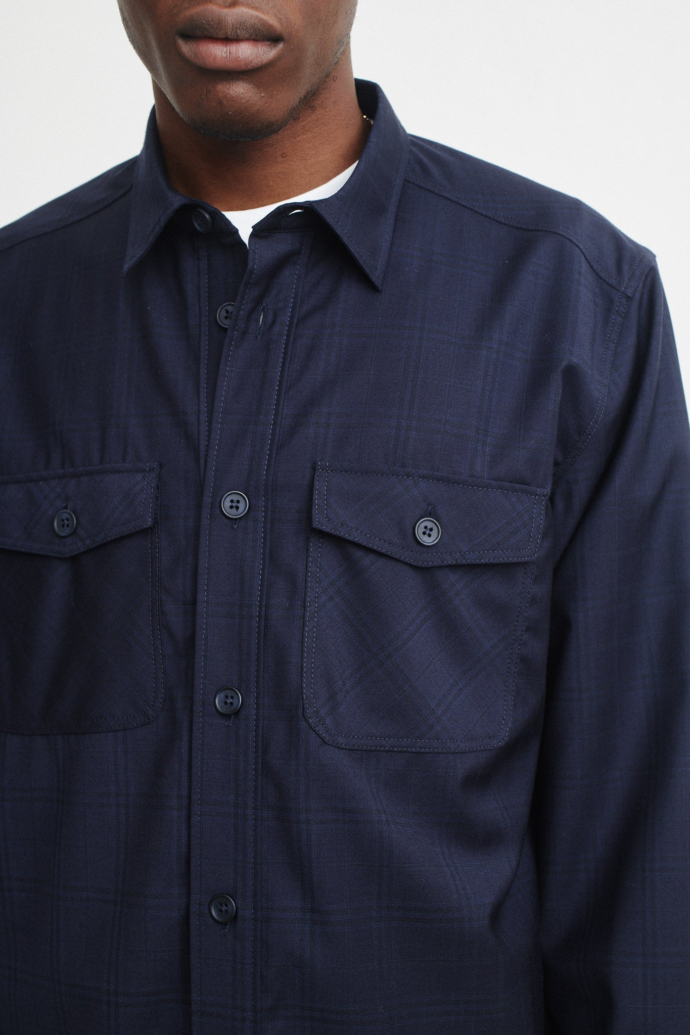 Chambers shirt dark check