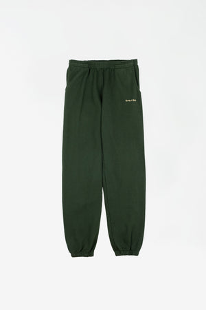Classic Logo Sweatpant green/gold sticht