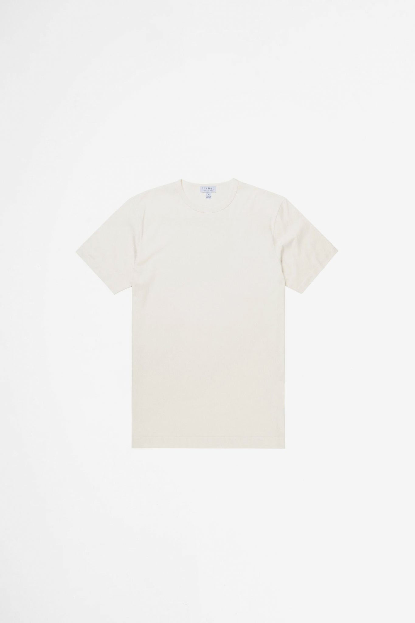 Classic crew neck t-shirt archive white
