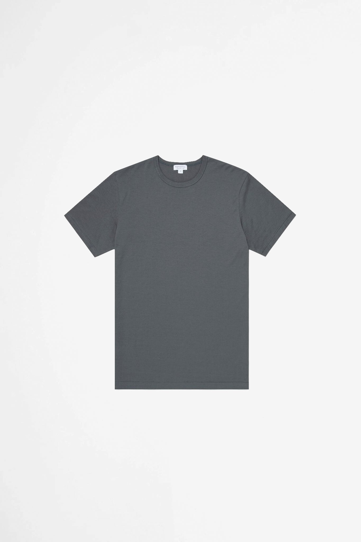 Classic crew neck t-shirt charcoal