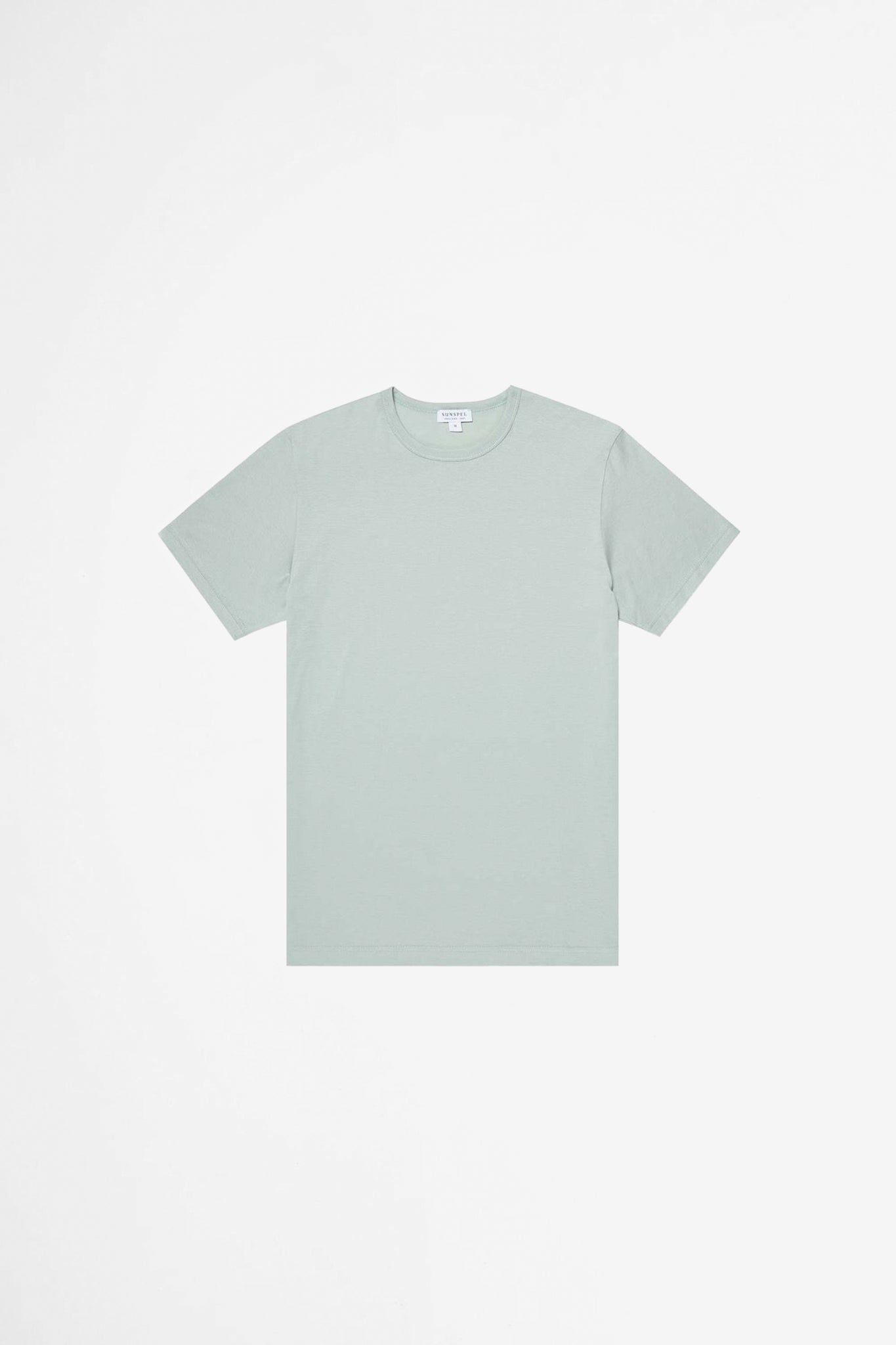 Classic crew neck t-shirt dusky green