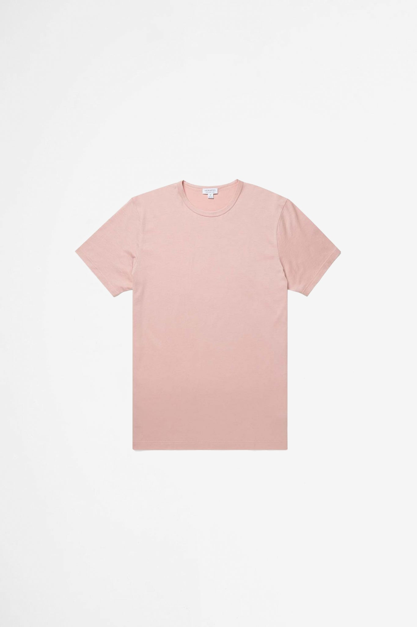 Classic crew neck t-shirt dusty pink