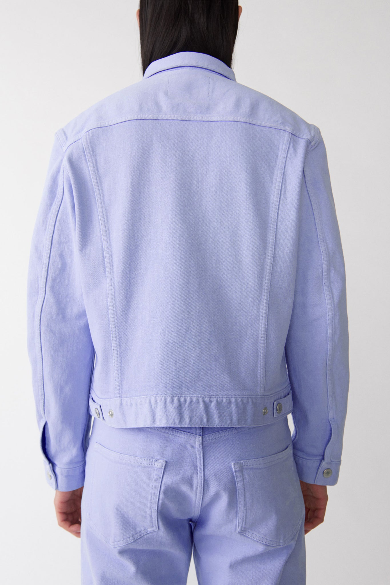 Classic denim jacket lilac