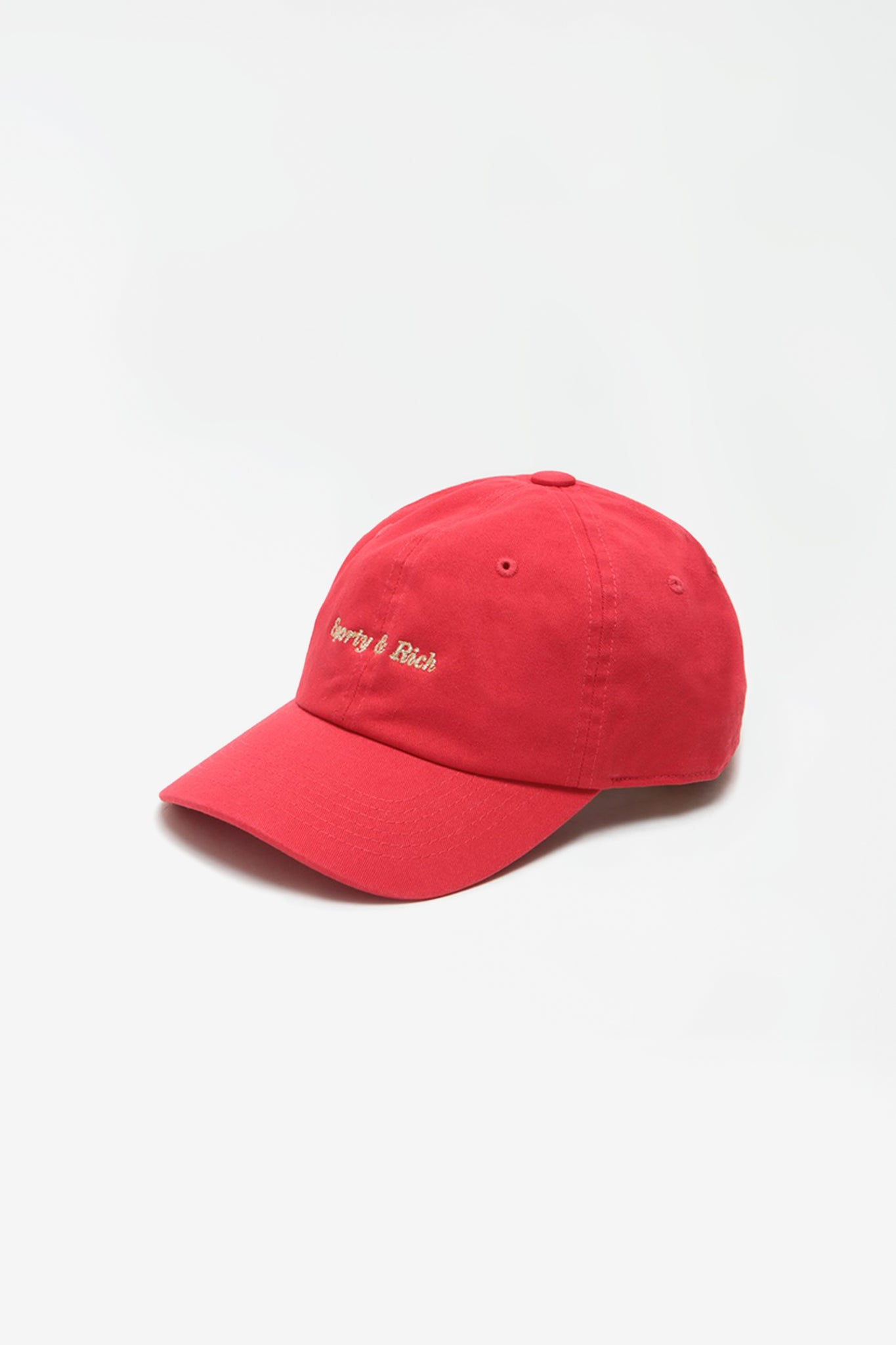 Classic logo hat sport red/gold sticht