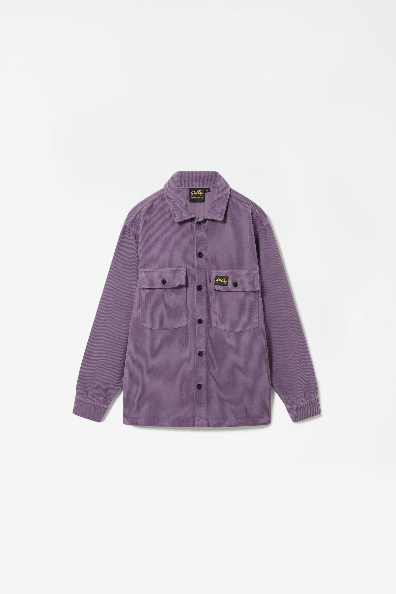 Cord CPO shirt crushed purple