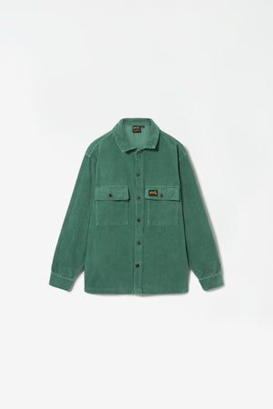Cord CPO shirt indian green