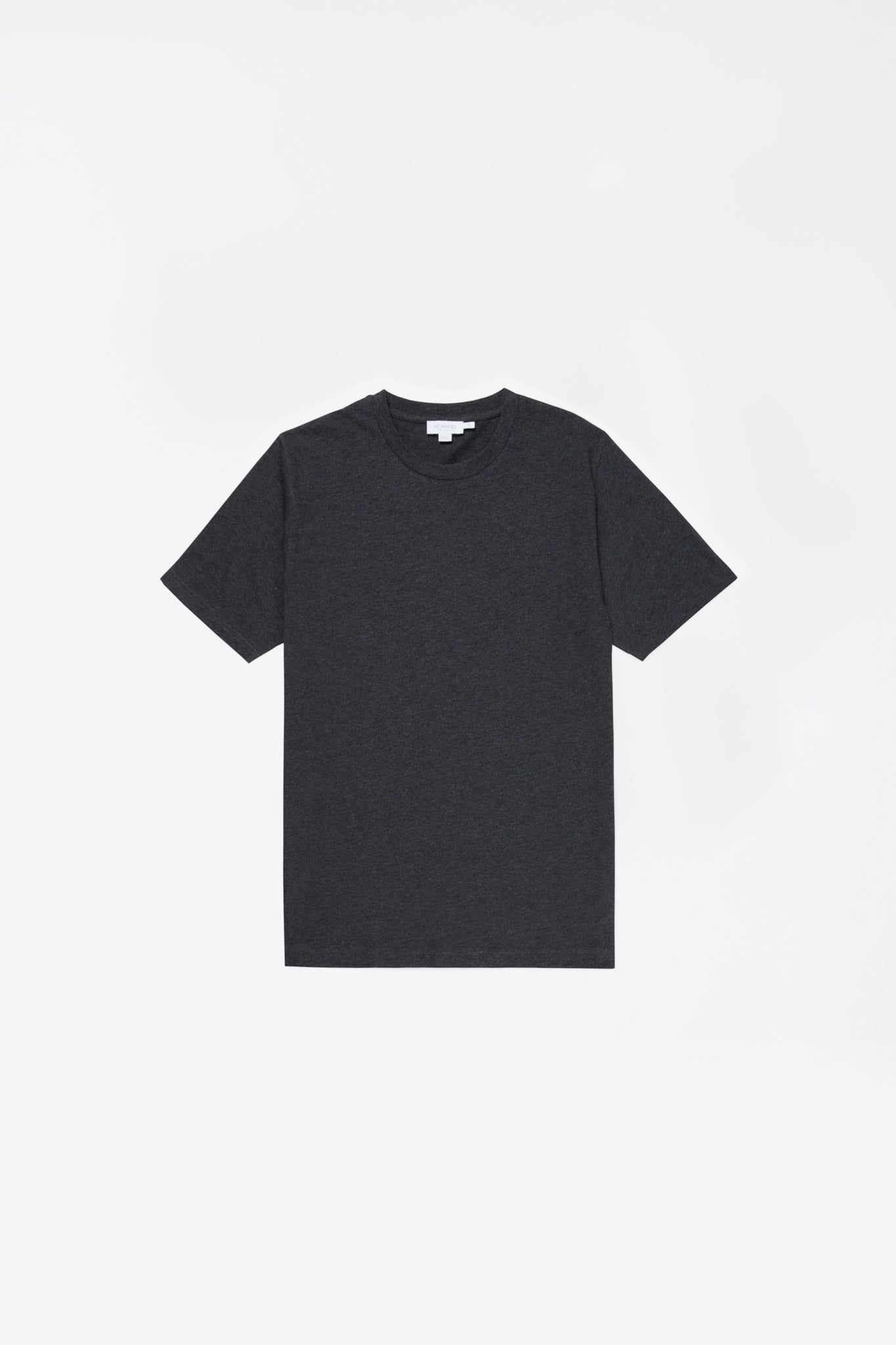 Cotton Riviera T-shirt charcoal