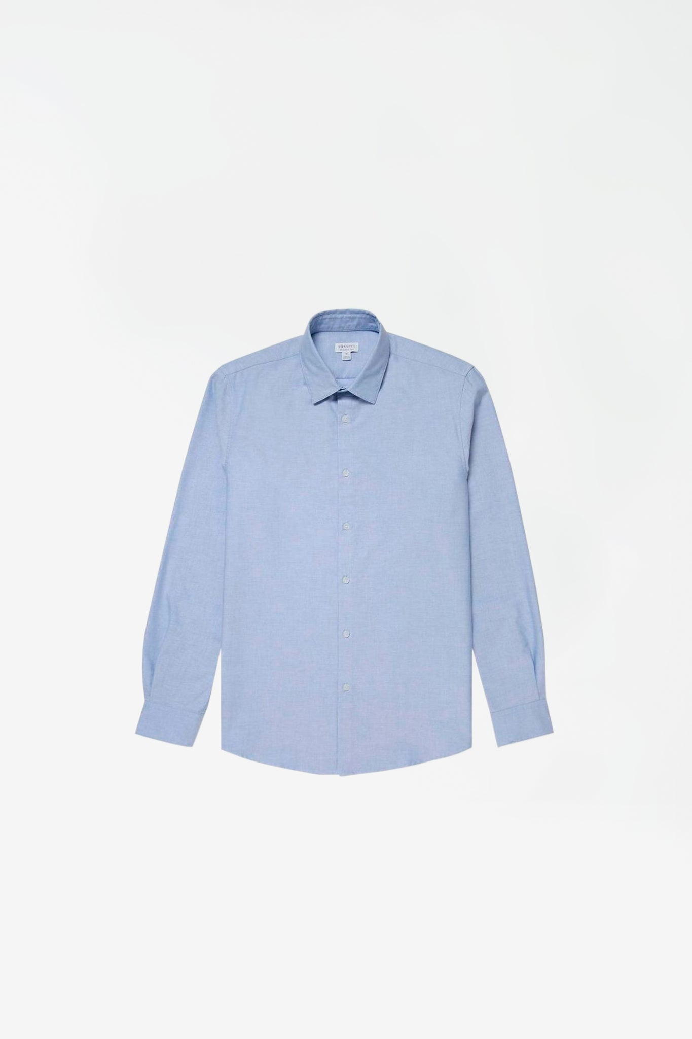 Cotton oxford shirt light blue