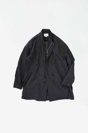 Crisp nylon coat black