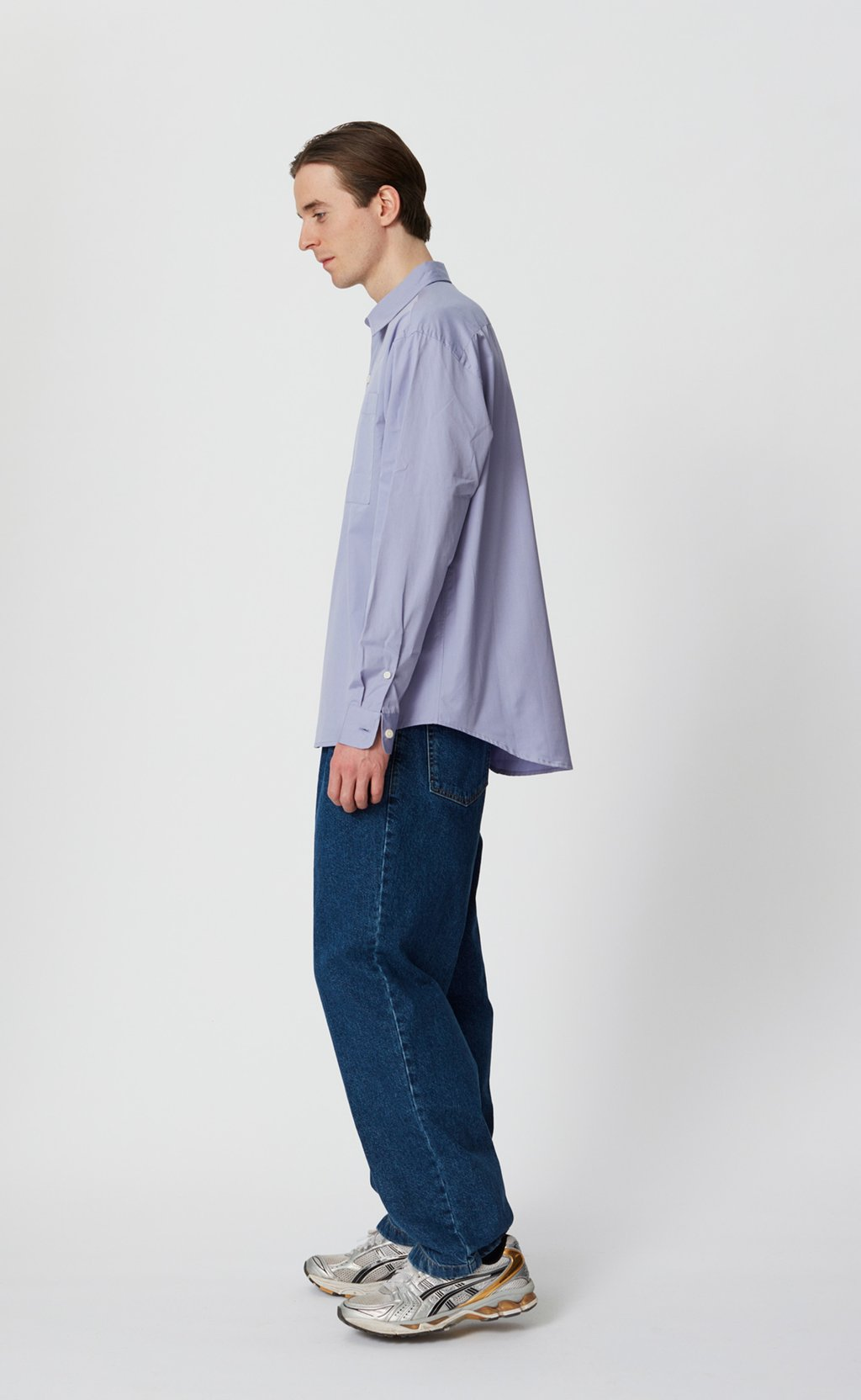Distant shirt periwinkle