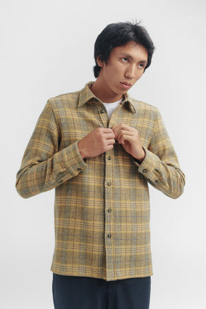 Dullu overshirt golden hour check