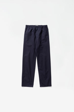 Evald canvas trousers dark navy