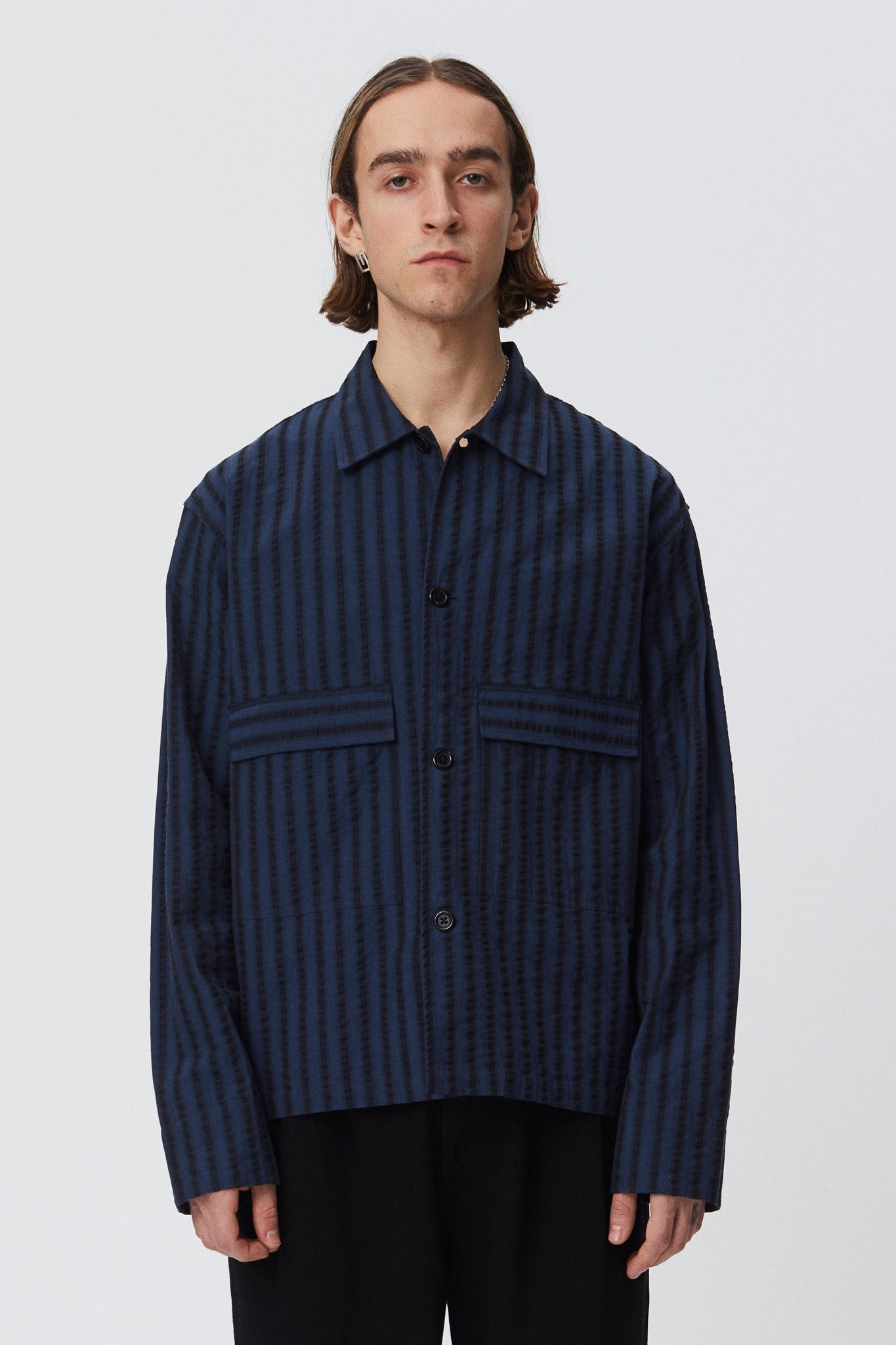 Field shirt dark navy