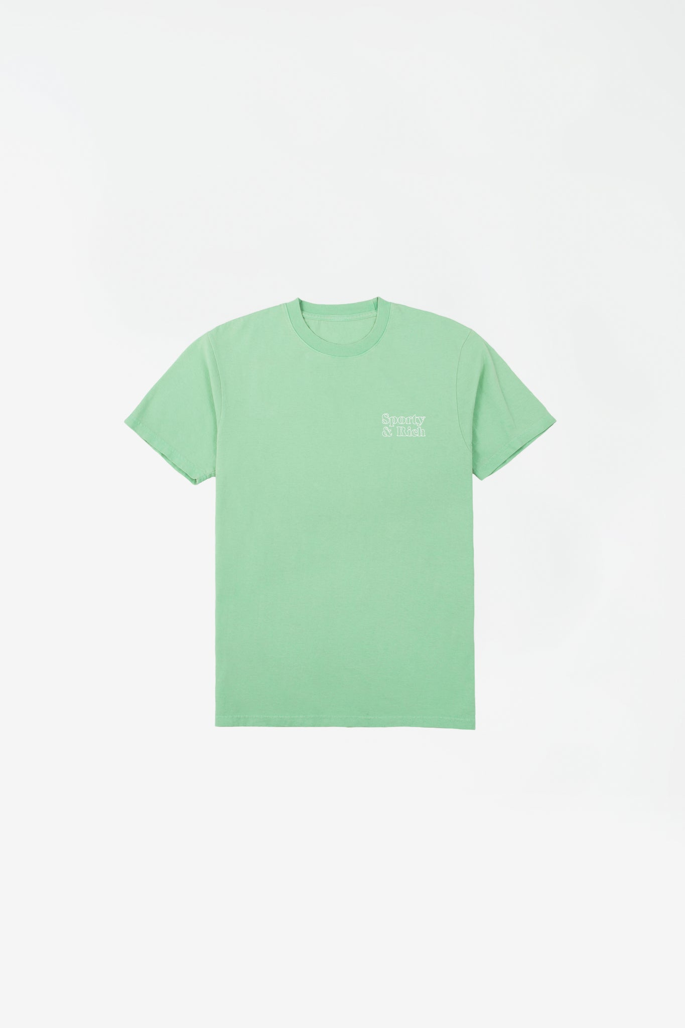 Fun logo t-shirt junior mint