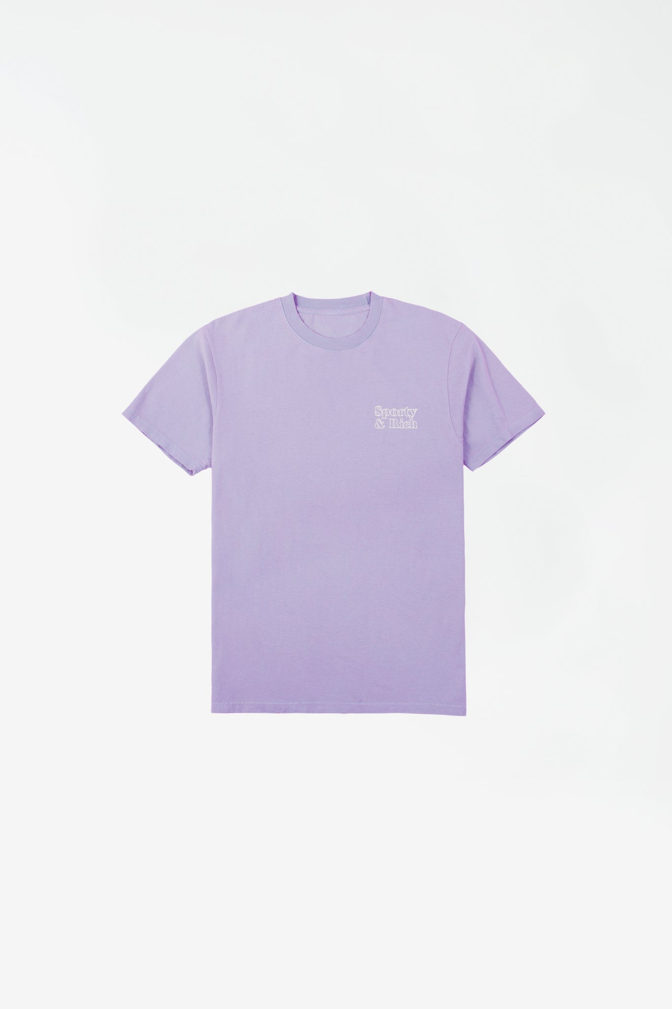Fun logo t-shirt lilac