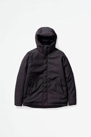 Fyn technical wool dark navy