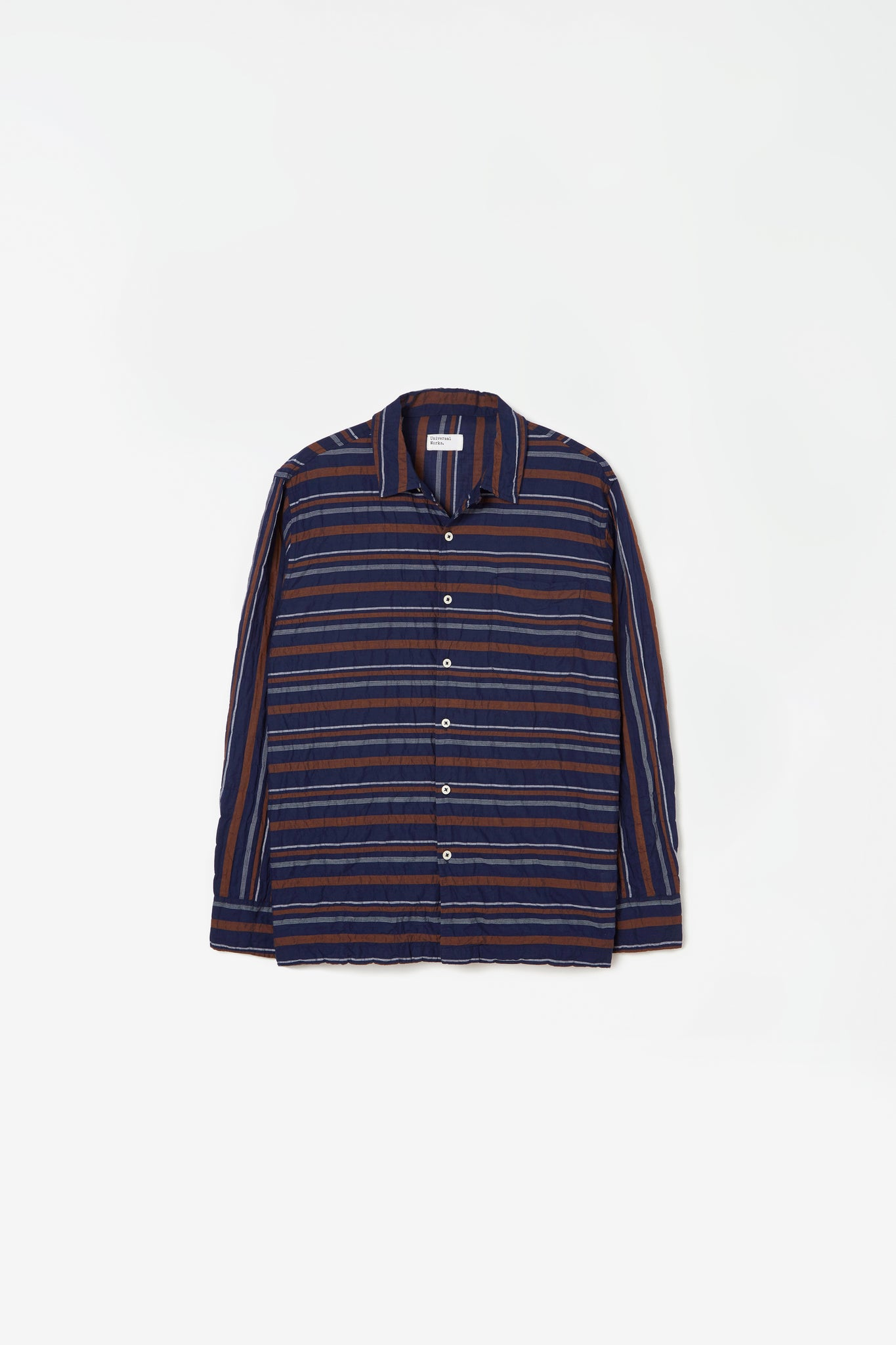 Garage shirt acapulco stripe navy