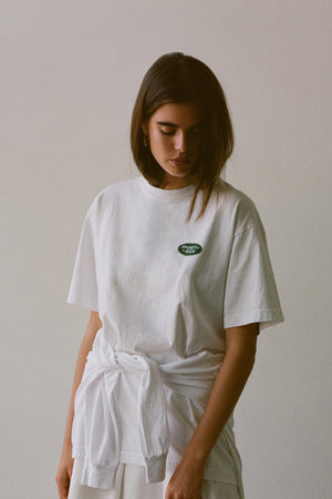 Land Rover Logo t-shirt white/green