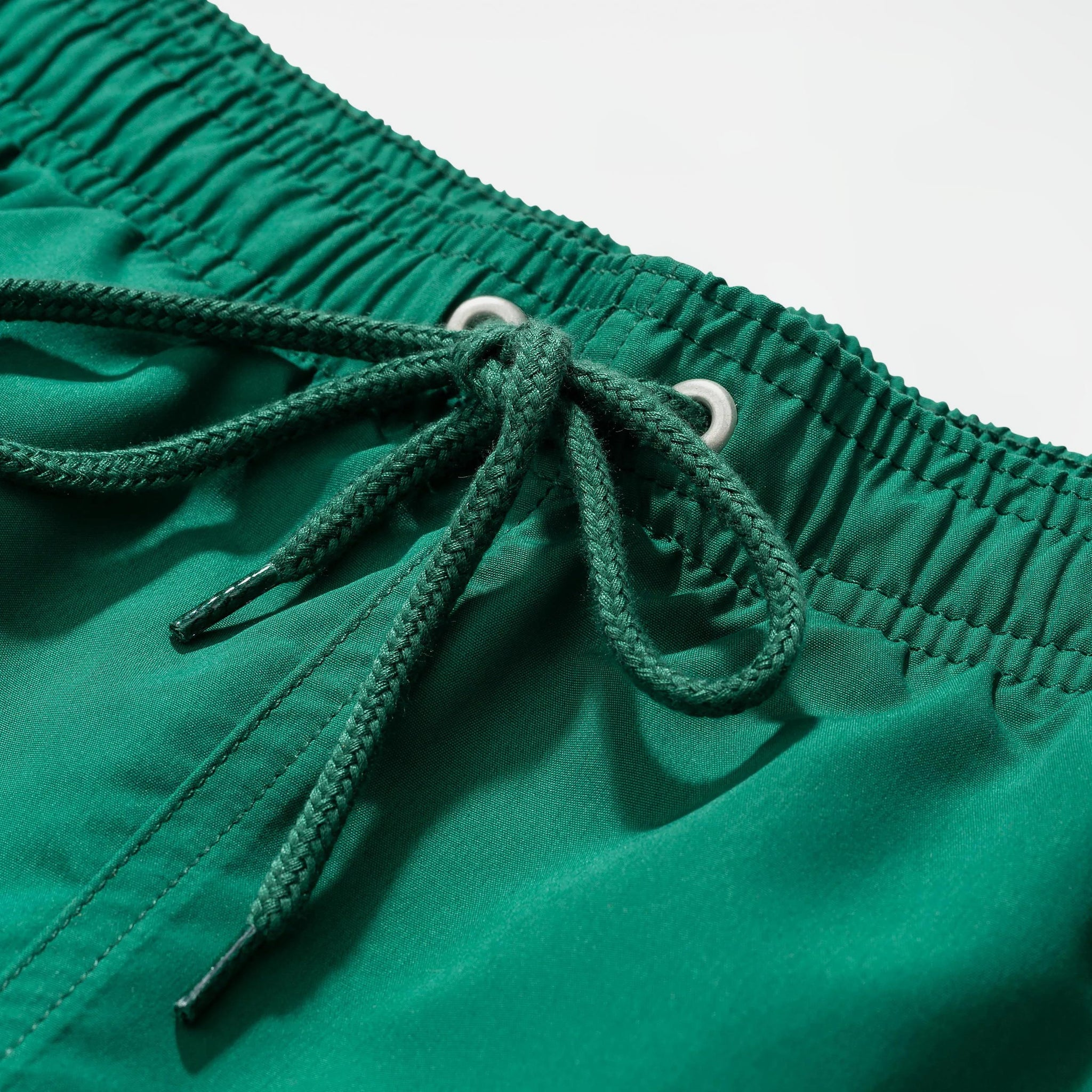 Hauge swim shorts sporting green