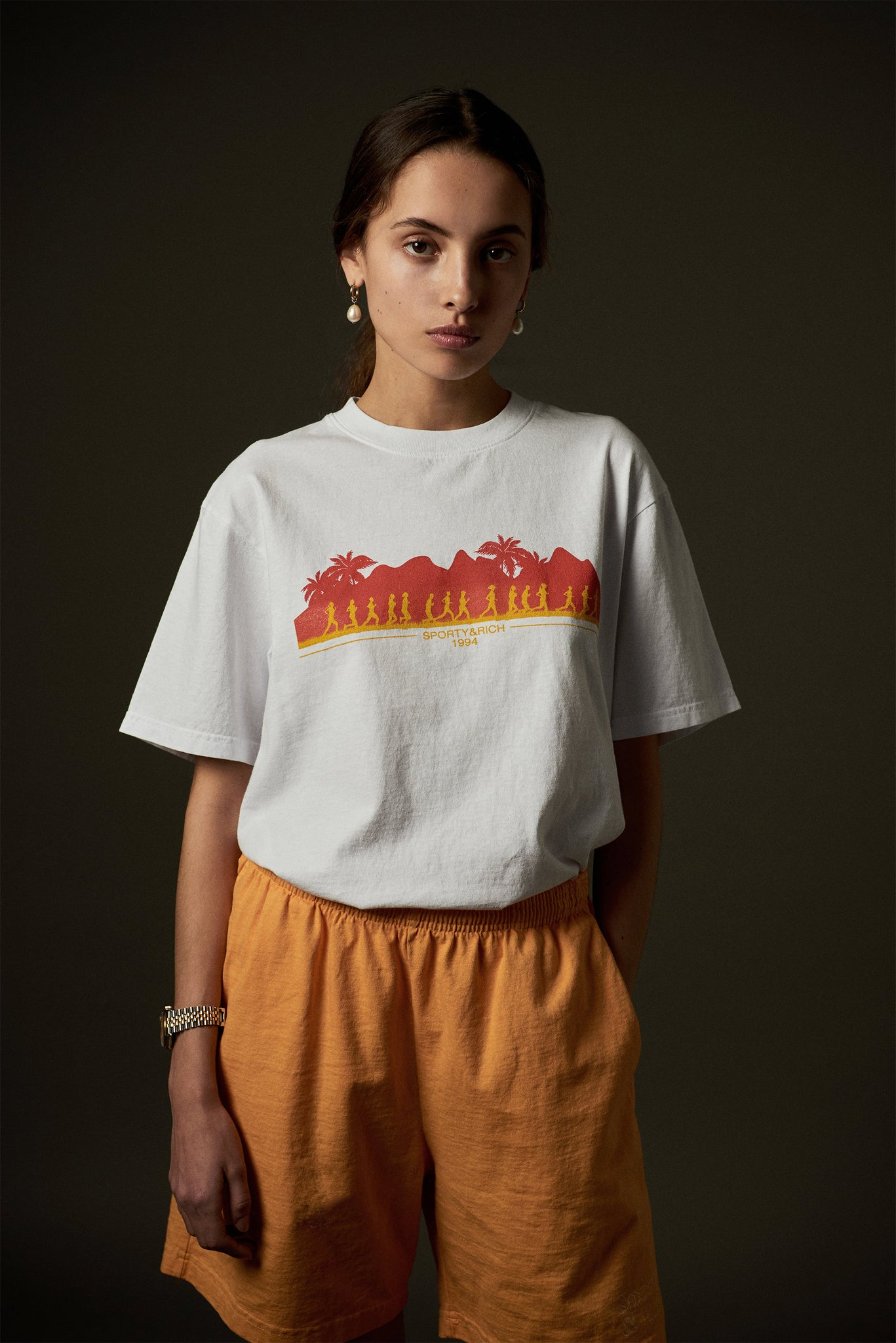 Hawaii run t-shirt white
