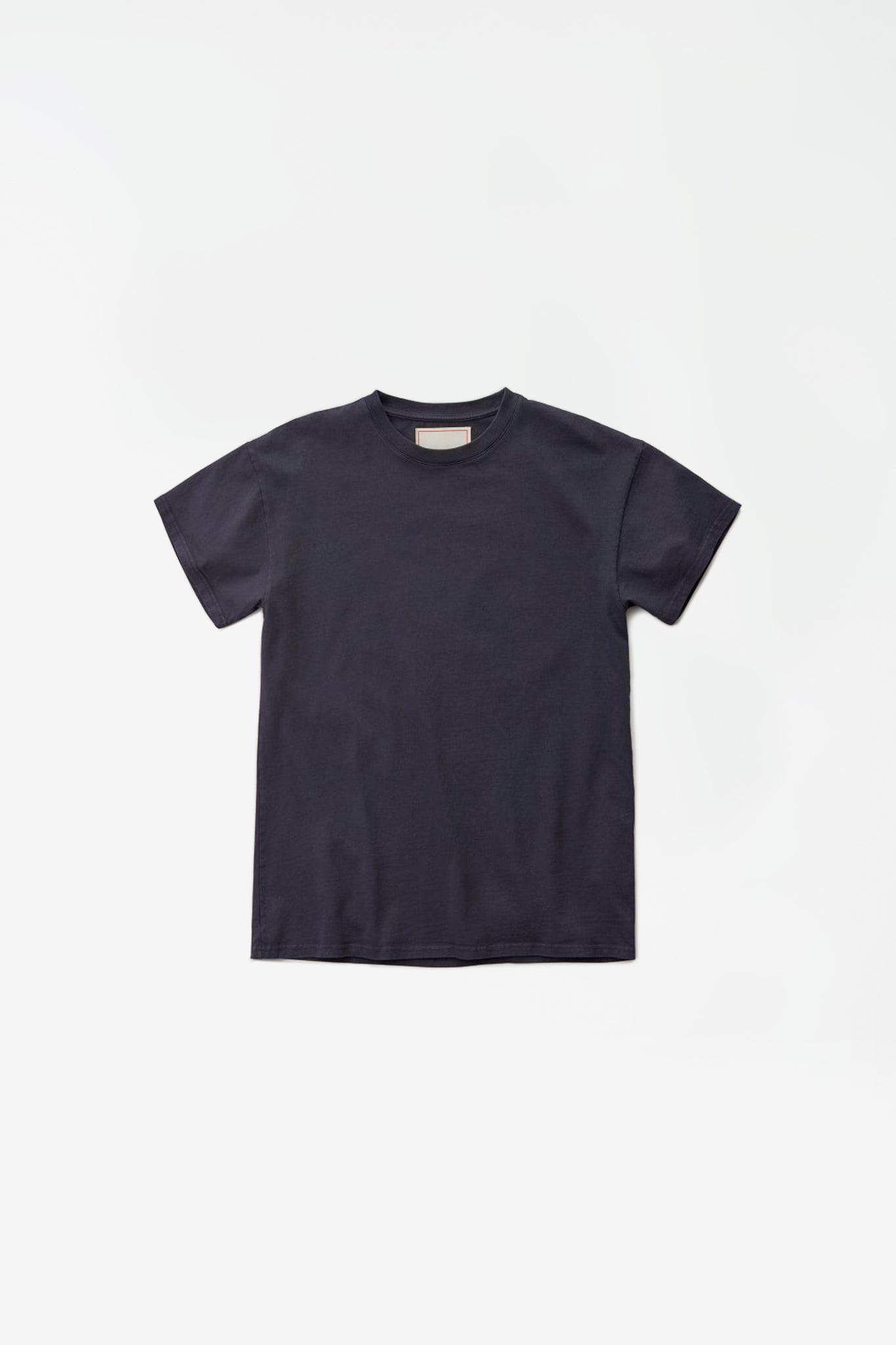 Heavy shortsleeved tee blue grey