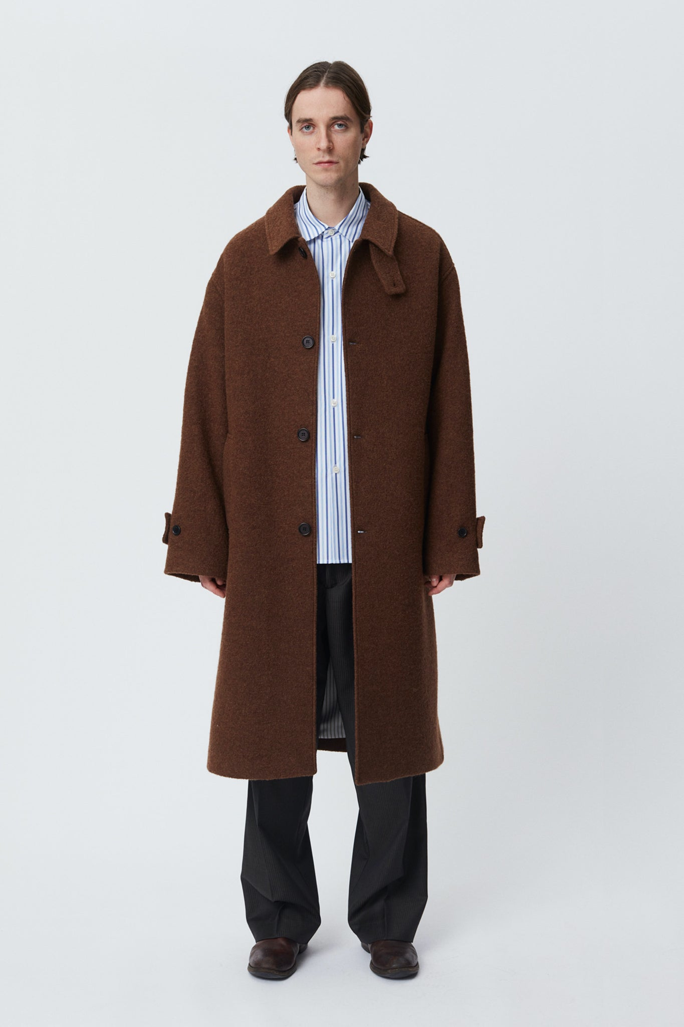 Hollis coat brown