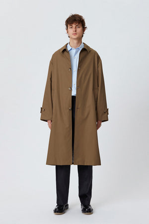 Hollis coat dark khaki