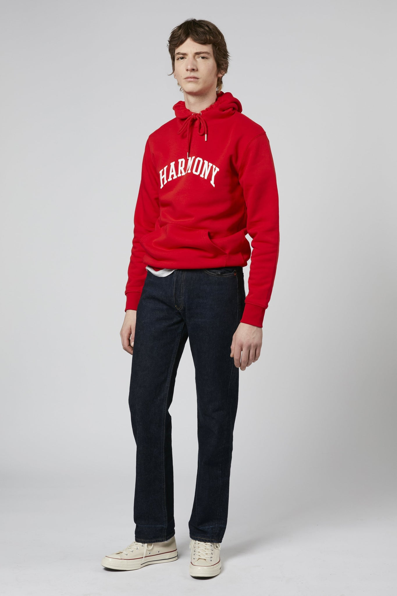 Hoodie College red