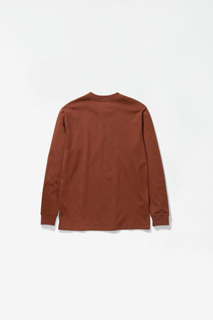 Johannes Pocket LS madder brown
