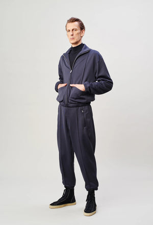 Zipped fleece carbon