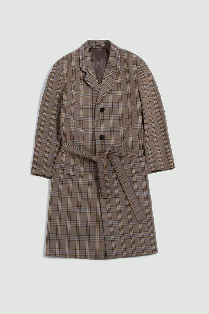 Unisex chesterfield suit coat beige