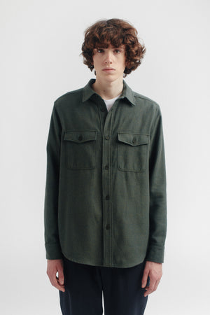 Lamport shirt moss flannel
