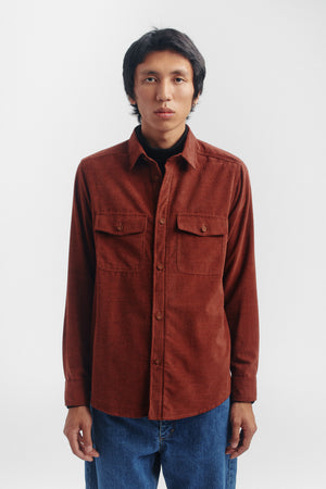 Lamport shirt rust