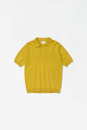 Leif cotton linen polo