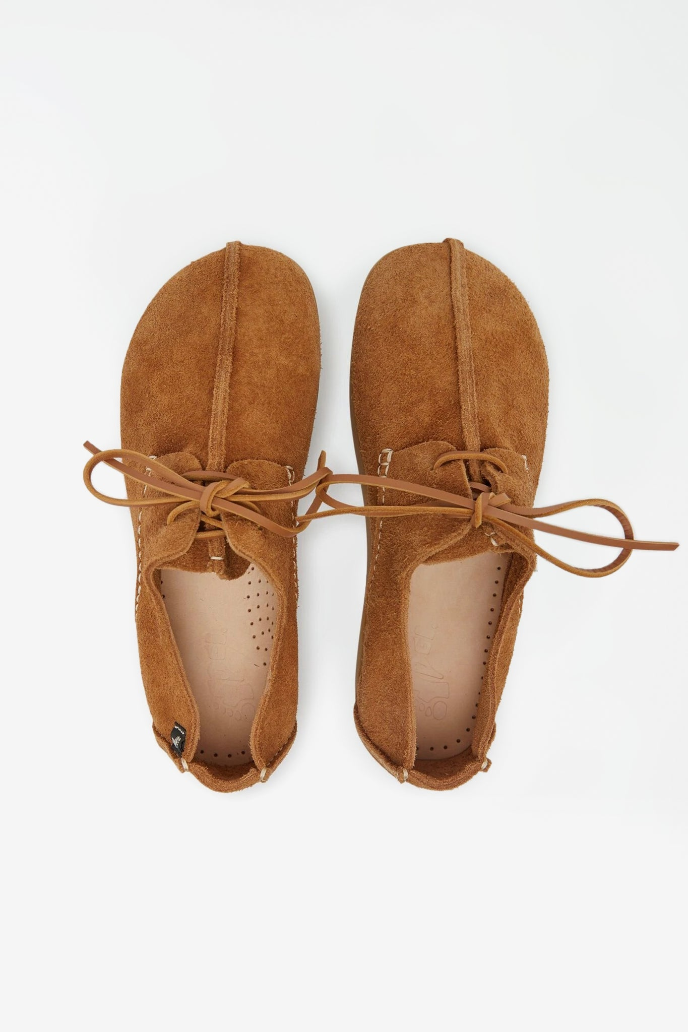 Lennon hairy suede sand brown