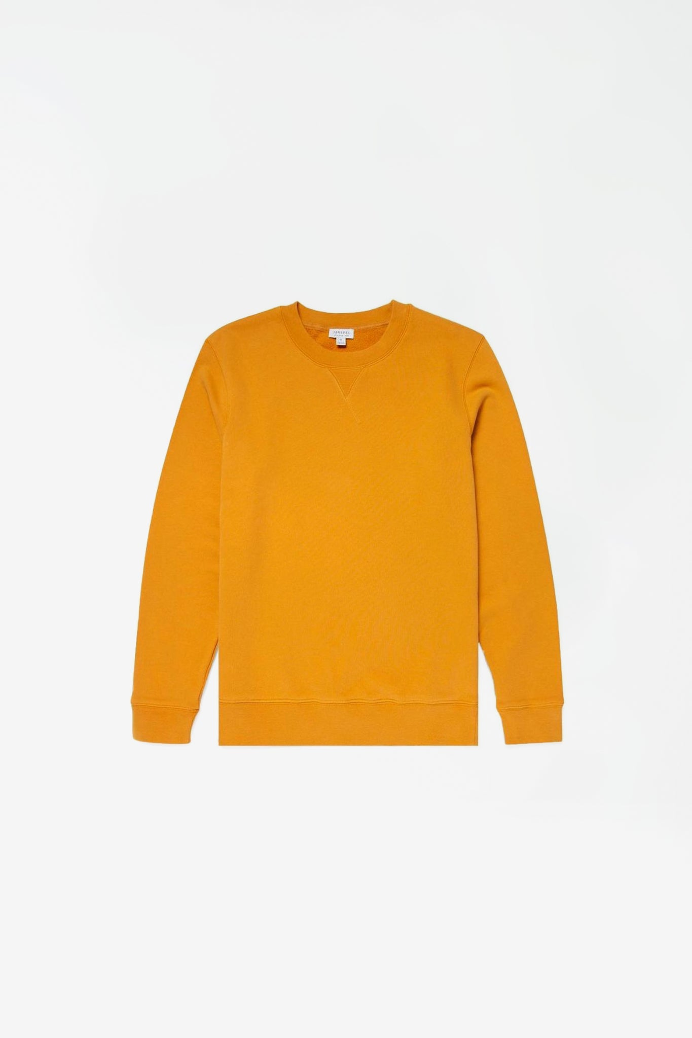 Loopback sweatshirt english mustard