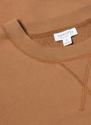 Loopback sweatshirt nutmeg