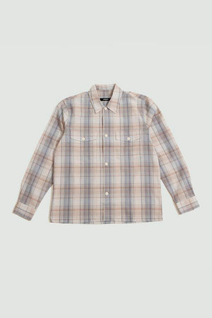 Pocket shirt light brown