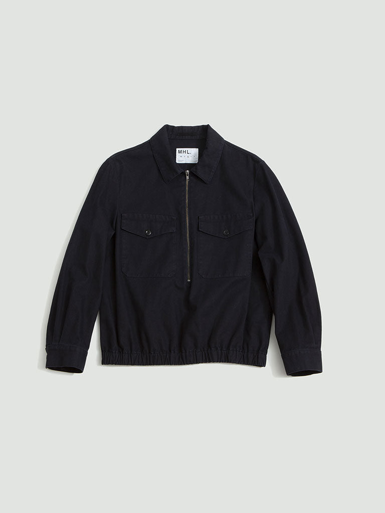 Margaret Howell. Overhead jacket twill indigo